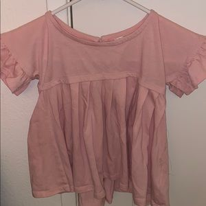 Pink blouse size 5